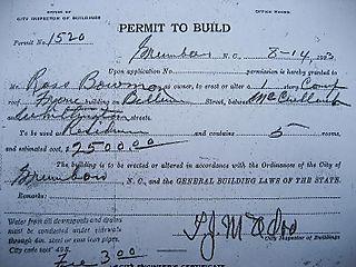 Bowman Permit