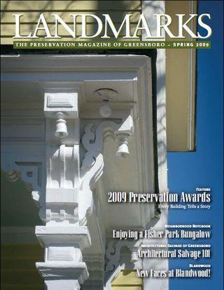 Landmarks Spring 2009 cover