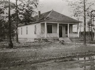 1316 Grove St - Spring of 1921