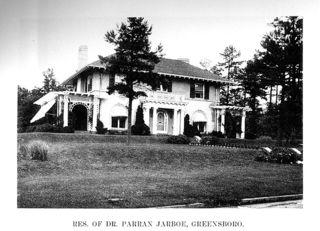 Residence of Dr. Parran Jarboe