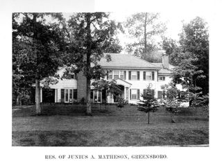 Residence of Junius A. Matheson