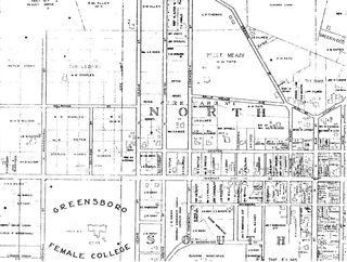 The Cedars Map