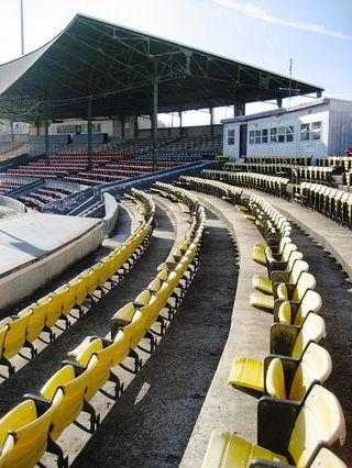 War Memorial Stadium Interior