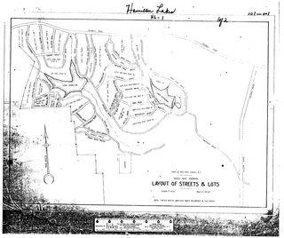 Hamilton Lakes Plat Book 1 Page 1